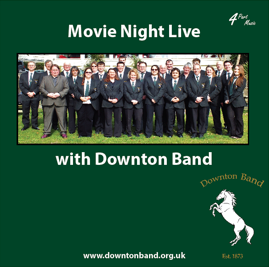 Movie Night Live with Downton Band